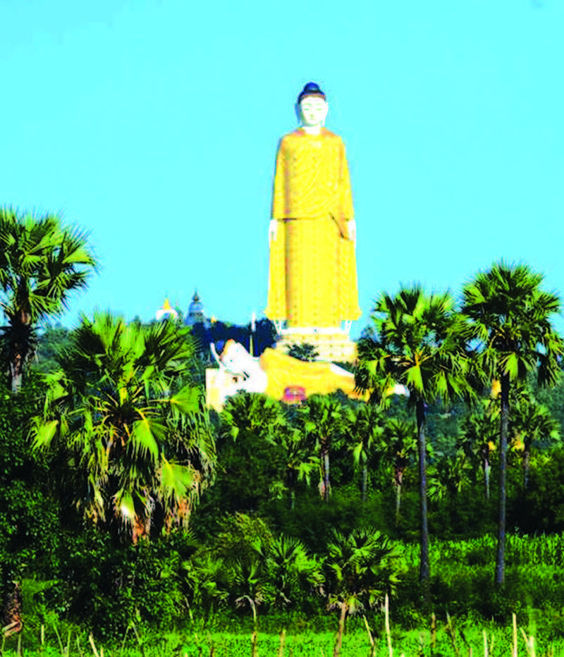 Maha Bodhi Ta Htaung.