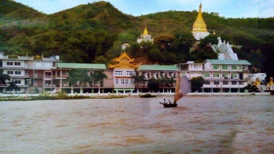 Wachet Jivitadana Sangha Hospital in Sagaing Hills. Photo: Sayar Mya
