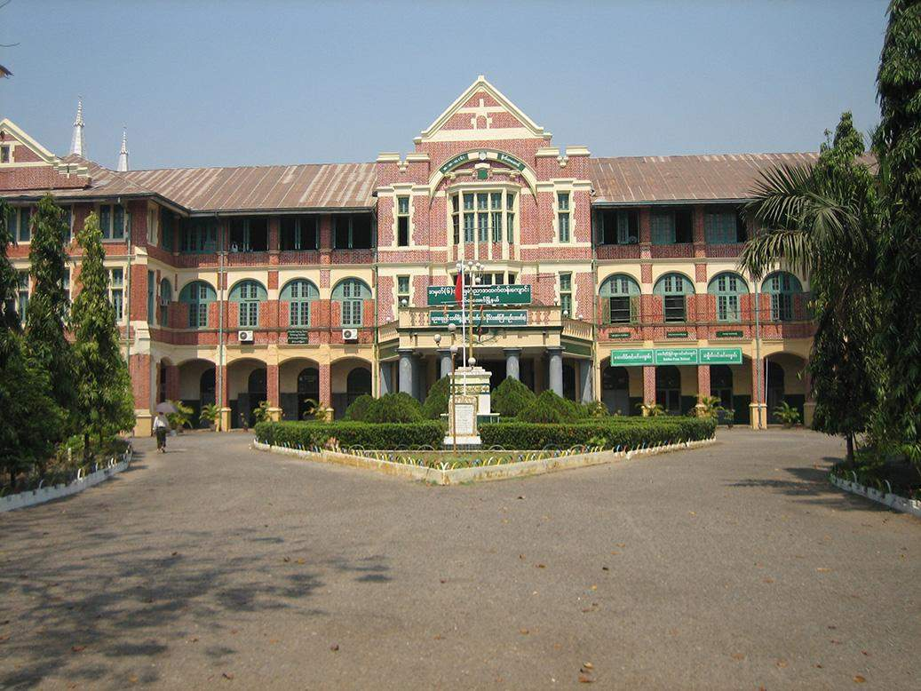 Botahtaung BEHS No.6, formerly known as St Paul's School in Yangon. Photo: en.wikipedia.org