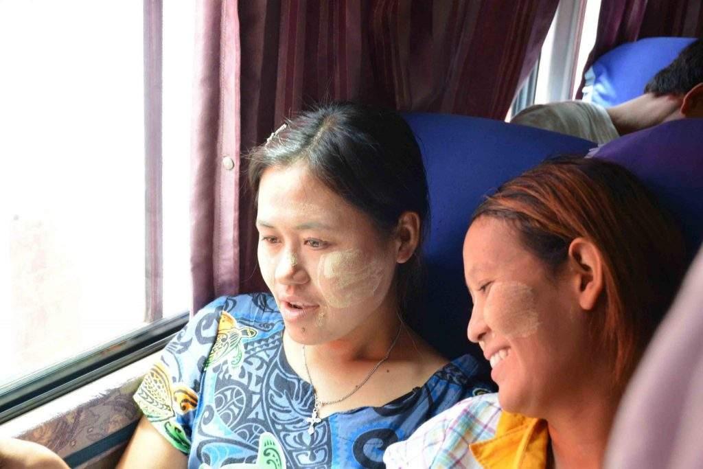 Released protesters being taken home to Sagaing. Photo: Zin Oo (Myanma Alin)