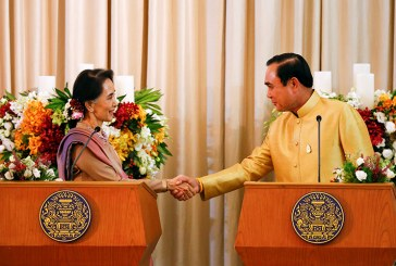 cross-border support — Daw Aung San Suu Kyi holds talks with Thai PM on Myanmar migrant workers