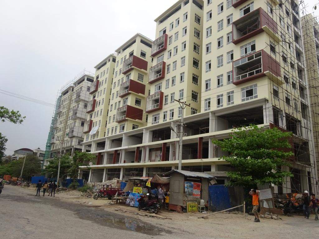 A  housing estate being seen in Mandalay. Photo: Thiha Ko Ko