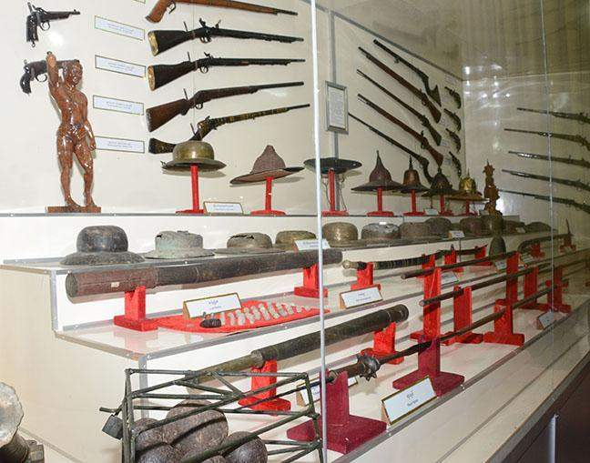 Defence Services Museum in Nay Pyi Taw