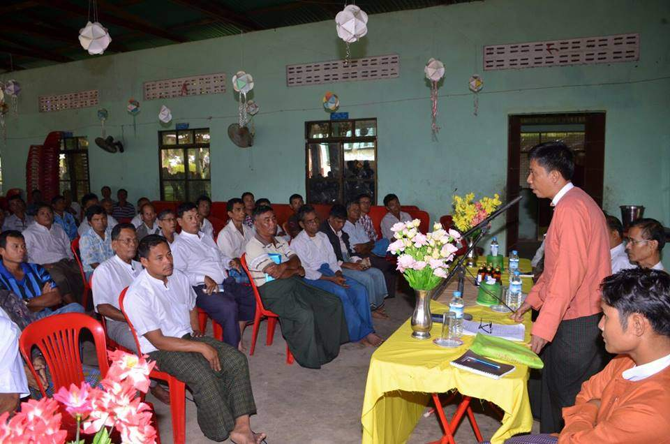 The MP meets local residents aggrieved by Dawei Special Economic Zone.