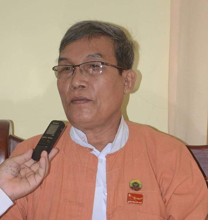 Rakhine State Chief Minister U Nyi Pu.