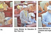 Pyithu Hluttaw hears answers to parliamentary questions, discusses proposal