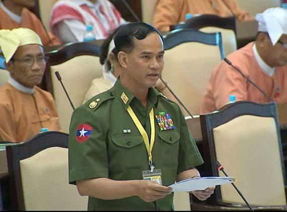 Deputy Minister for Home Affairs Maj-Gen Aung Soe.