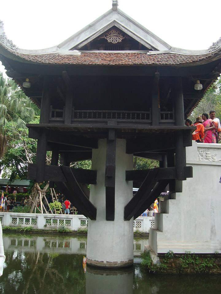 One-Pillar Pagoda.