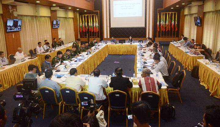 Union Joint Ceasefire Monitoring Committee meeting to form sub-committee in progress.
