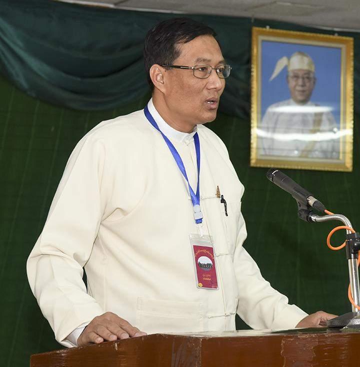 U Moe San Aung of BMF.