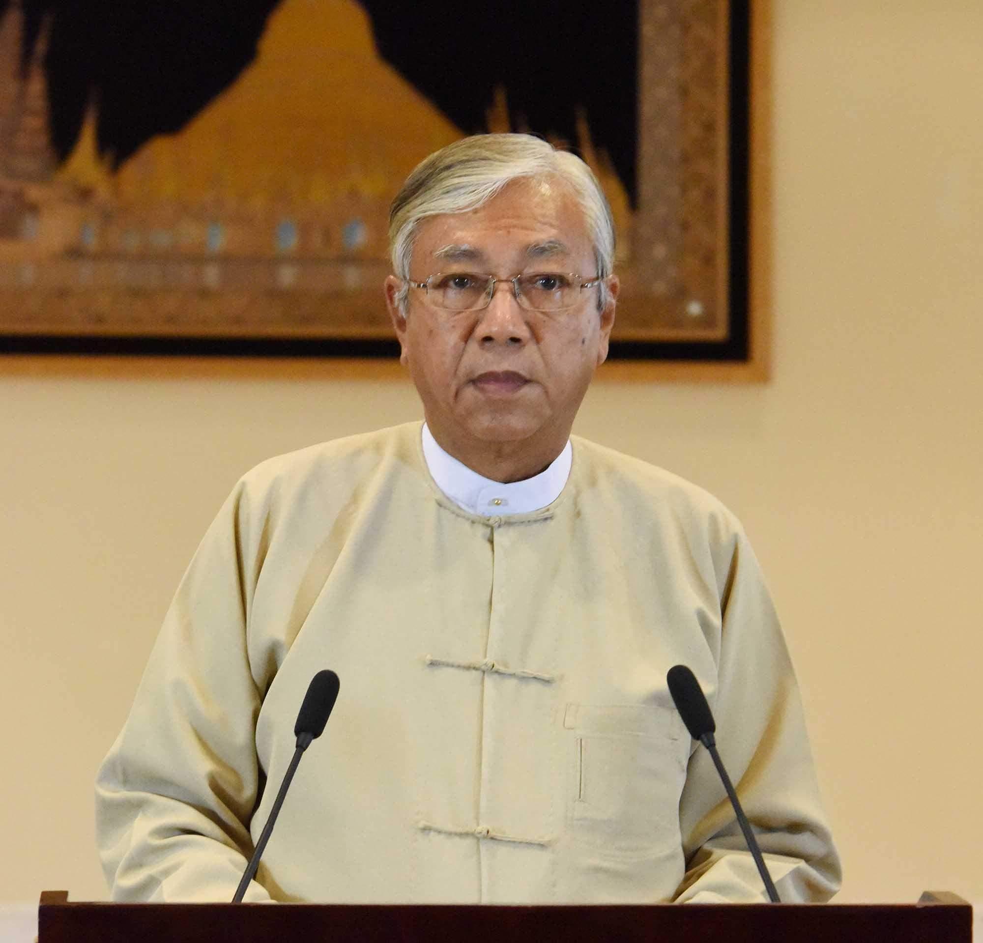 U Htin Kyaw 72