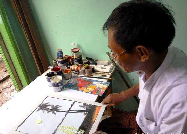 The one and only mirror painting artist.