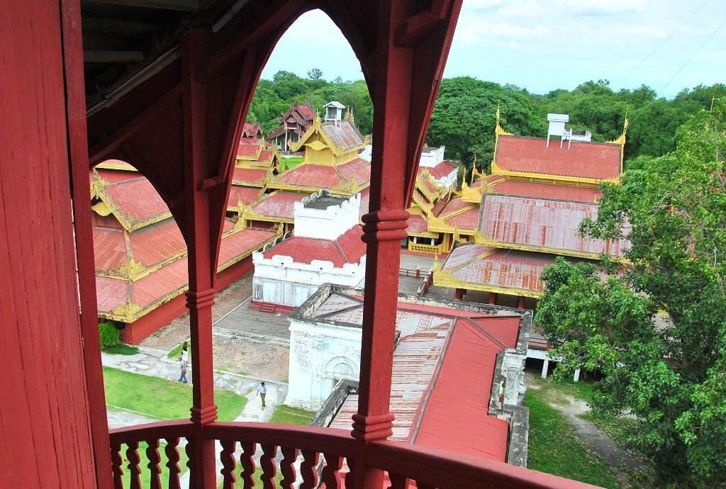 Museum at Mandalay Palace also known as Myanansankyaw Shwenandaw. Photo: Aung Thant Khaing