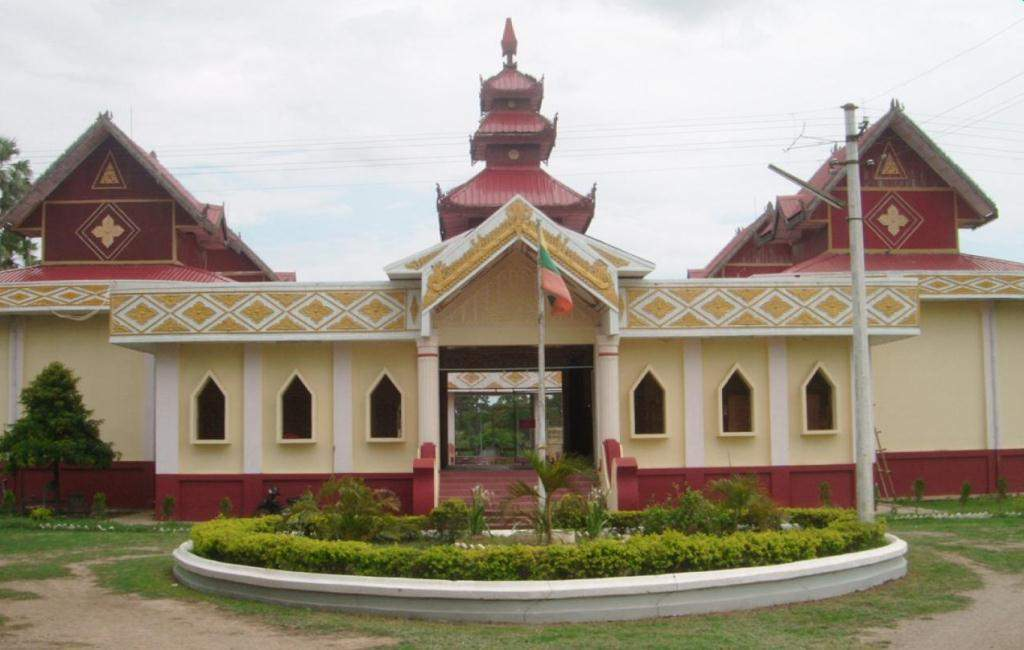Innwa Archaeological Museum being seen. Photo: Aung Thant Khaing