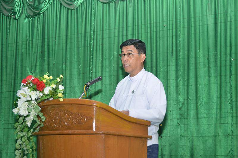 U Aung Myo Myint, the director-general of PPD and chairman of the committee for organizing the festival. Photo: MNA