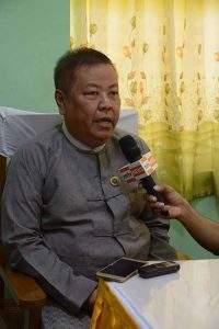 Rakhine State Health and Social Affairs Minister Dr Chan Tha.