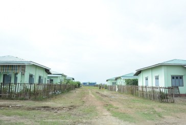 Ethnic national village in Maungtaw stable