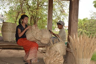 Traditional woven baskets earns local people good income