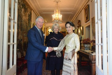 State Counsellor visits Great Britain