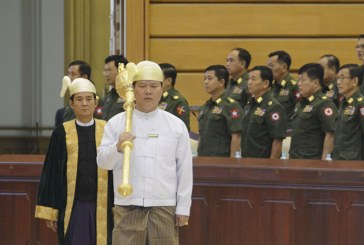 2nd Pyithu Hluttaw 5th regular session holds its 6th day meeting