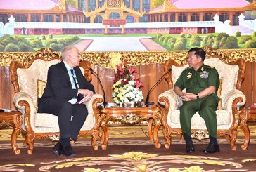 Senior General meets New Zealand Ambassador