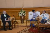 Amyotha Hluttaw Speaker receives New Zealand's Ambassador