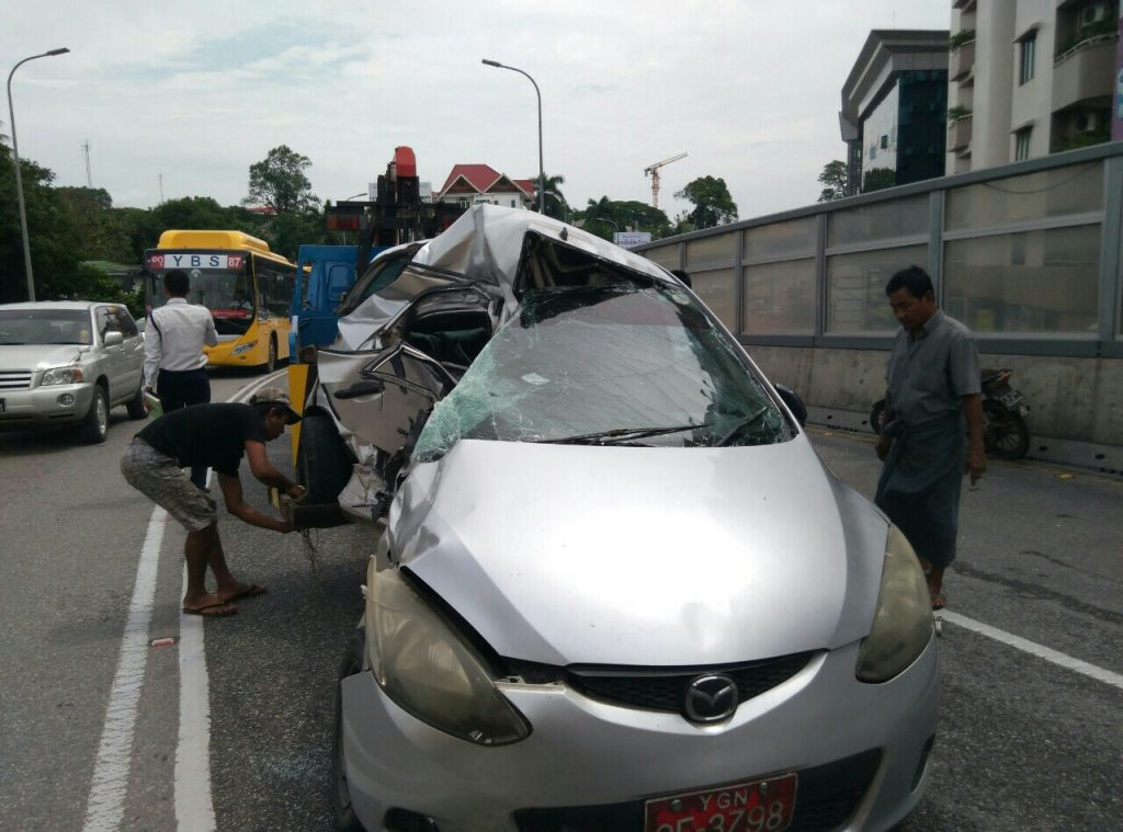 SGD overpass accident 1