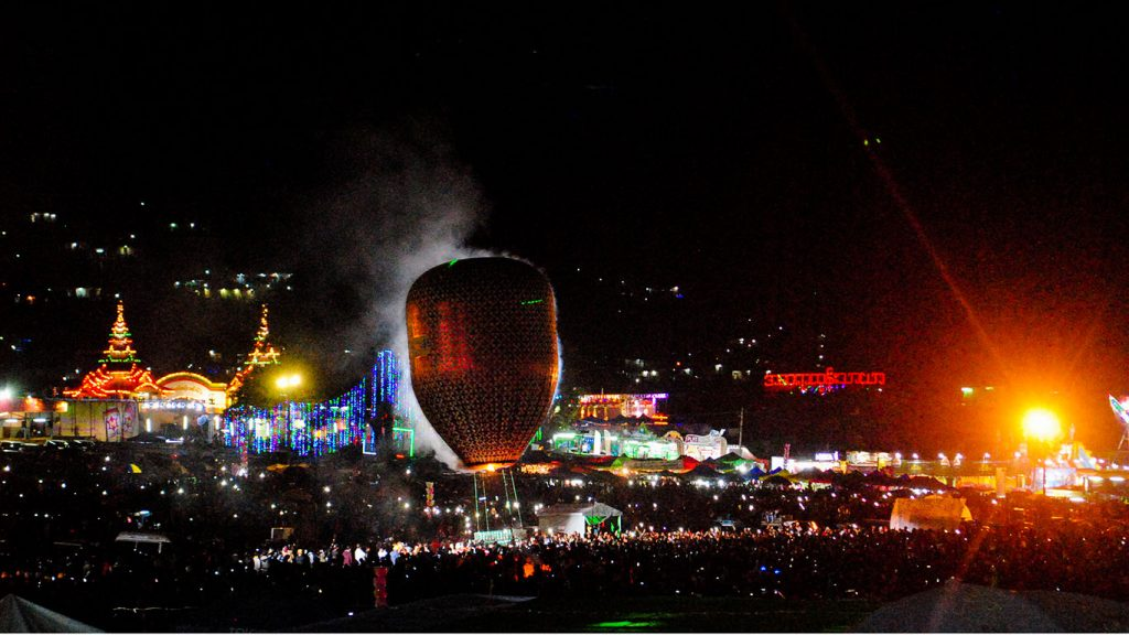Fire in the sky — the Taunggyi balloon festival