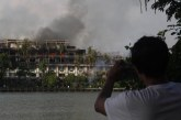 Two dead as fire guts iconic Kandawgyi Palace Hotel