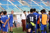President of MFF inspired Myanmar footballers