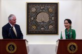 State Counsellor meets top US diplomat