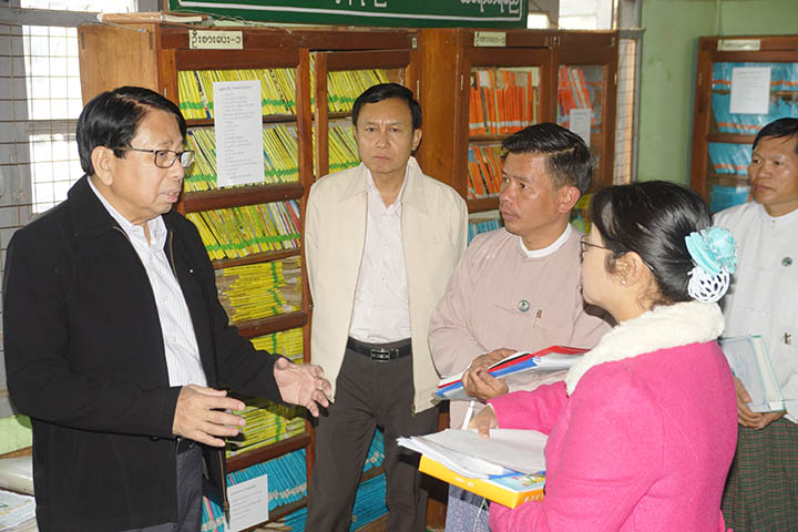 Union Minister for Information in Lashio