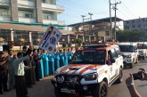 India-Myanmar-Thai friendship car rally  begins Myanmar leg in Myawady
