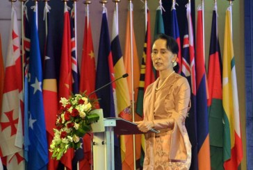 Welcoming and Opening Remarks by H.E. Daw Aung San Suu Kyi, State Counsellor of the Republic of the Union of Myanmar  Opening Ceremony of the 3rd APWS