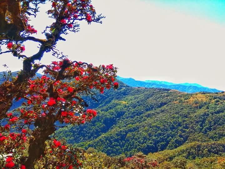 File photo shows natural beauty of Chin State.Photo: Zoe Haysar