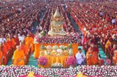 Myanmar-Thai donation for 20,000 monks