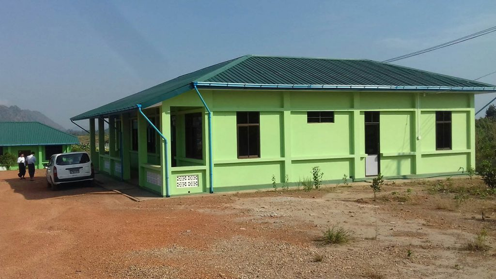Photo shows one of the buildings of the Hpa-an home for the aged.  Photo: Min Yarzar (Myitkyina)