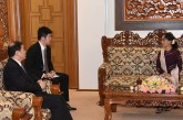 State Counsellor receives Chinese Vice Foreign Minister and Major General, Deputy Chief of Staff