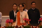 State Counsellor hosts dinner in honour of Laotian delegation