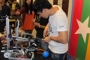 Students bring home glory at world's 1st Global Robotics Competition