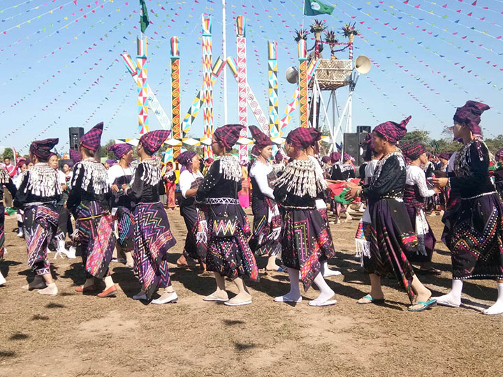 KZT Kaung Yar Village in Hpakant Township celebrates 70th Kachin State Day 1 copy