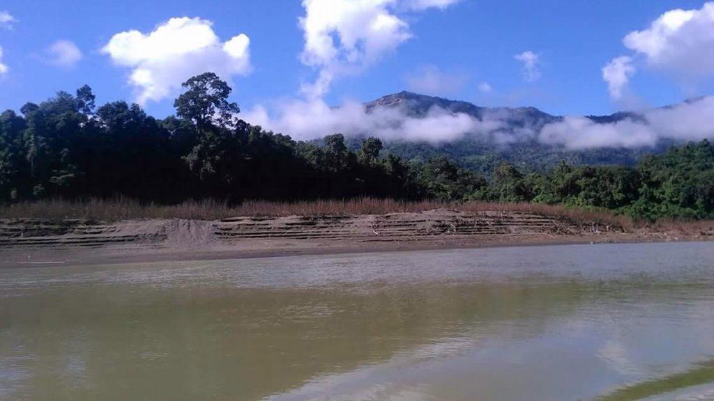 Kaladan River in Chin State.Photo: Moe Nwe