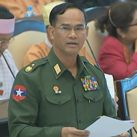 Deputy Minister for Home Affairs Maj-Gen Aung Soe.Photo: MNA