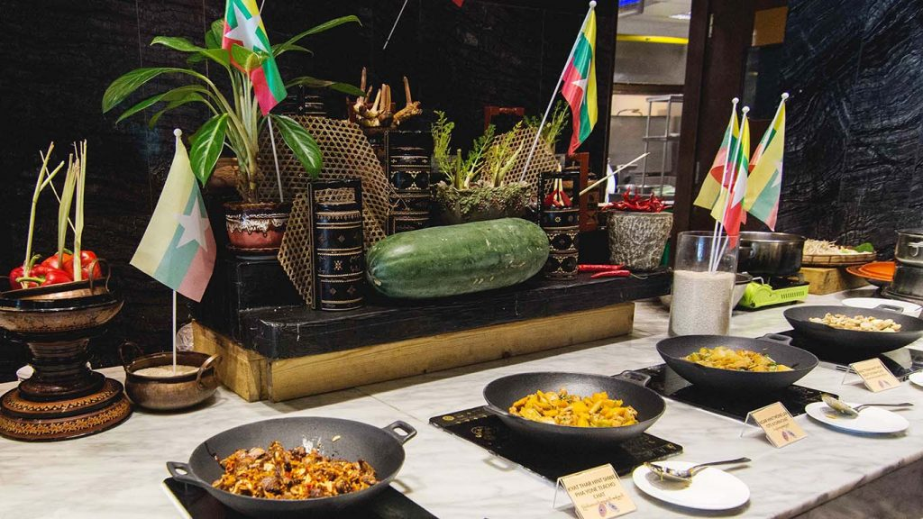 First Myanmar Food Festival hosted by Sedona Hotel in Yangon till 31 January.Photo: Supplied