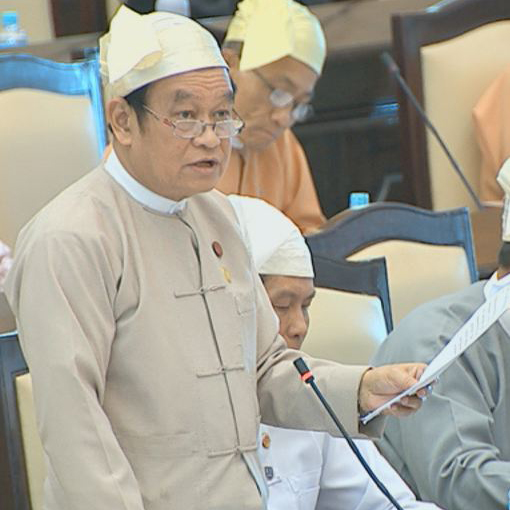 Union Minister for Health and Sports Dr. Myint Htwe. Photo: MNA