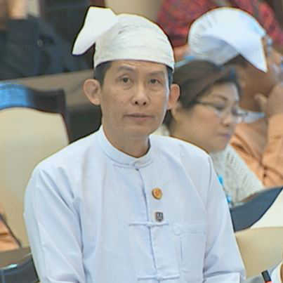Deputy Minister for Electricity and Energy Dr. Tun Naing. Photo: MNA