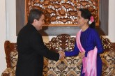 State Counsellor receives Cuban Ambassador to Myanmar