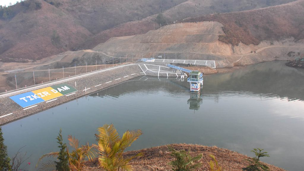 Tikir Dam will irrigate highland farms and produce 50 kilowatts of electricity through a mini-hydroelectric power station. Photo: MNA