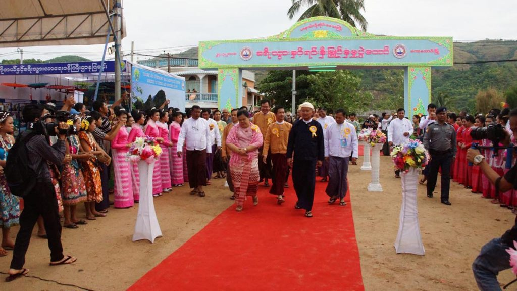 Kawthoung in Taninthayi Region  hold a tourism and investment festival.Photo: MDN
