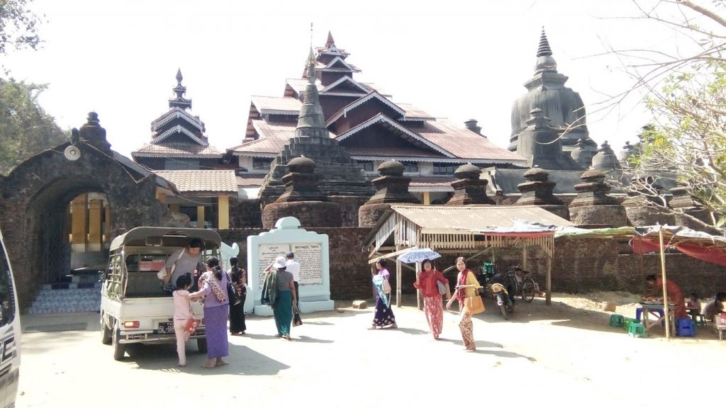 Mrauk-U in Rakhine State is one of the destinations for local and foreign tourists.Photo: Mrauk-U District IPRD